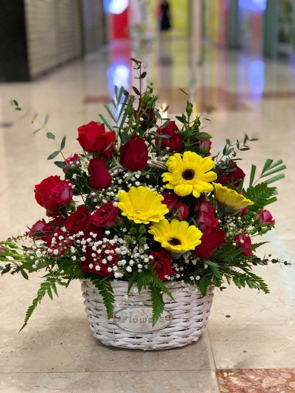 A Basket Of Love Flower Basket