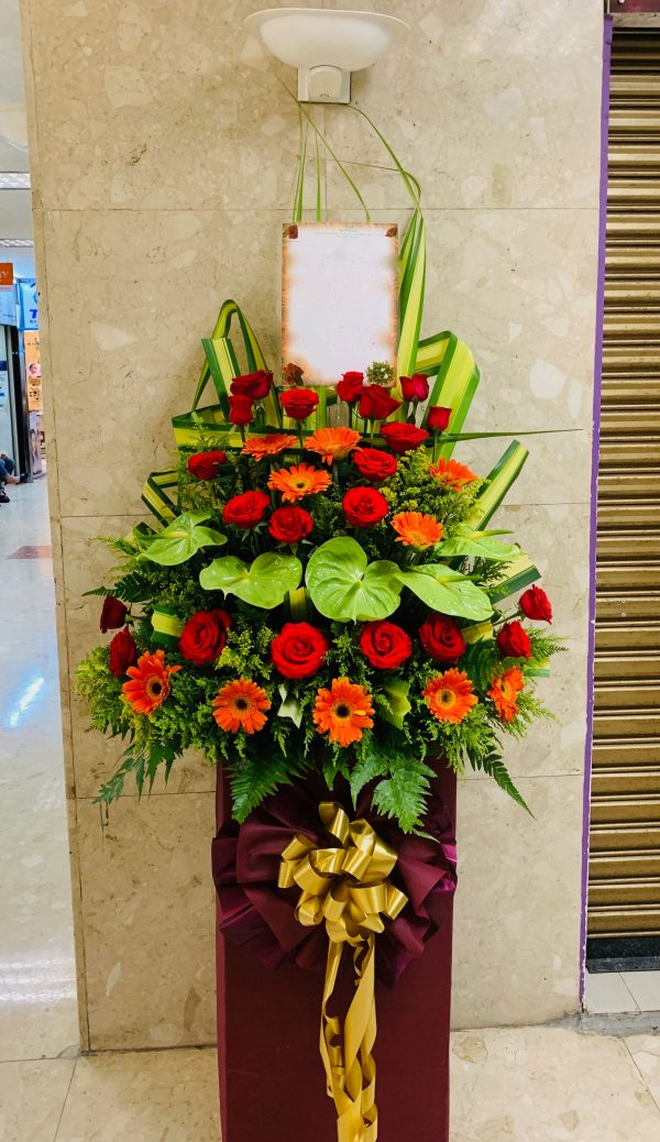 Be Prosperous Opening Flowers Stand