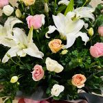 Best Wishes Opening Flowers Stand 2