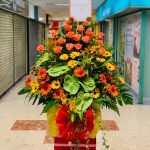 Royal Opening Flowers Stand