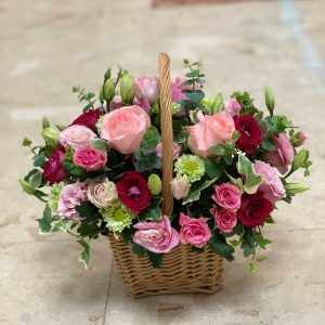 Spring Time Flower Basket