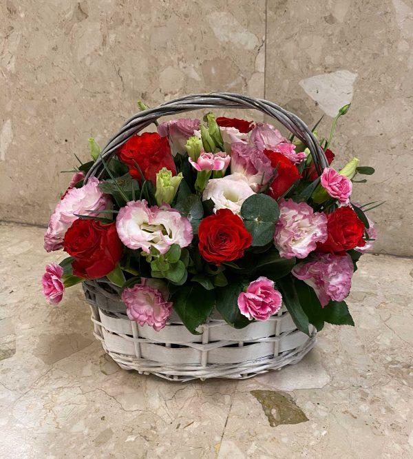Victorian Basket Flower Basket